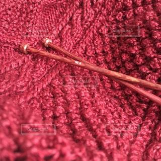 秋色の編み物の写真・画像素材[927883]