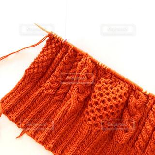 アラン模様のセーターの写真・画像素材[952694]