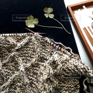Hand knittingの写真・画像素材[1016202]