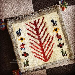 羊毛手織りの写真・画像素材[1409618]