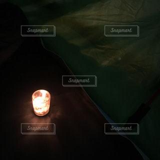 キャンプの夜の写真・画像素材[1641298]