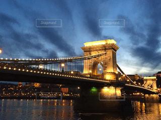 ブダペスト セーチェーニ鎖橋の写真・画像素材[618170]