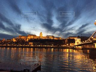 ブダペスト ドナウ川の風景の写真・画像素材[618171]