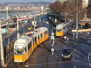 ブダペスト 朝の風景の写真・画像素材[618175]