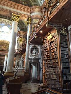 ウィーン 国立図書館の写真・画像素材[618238]