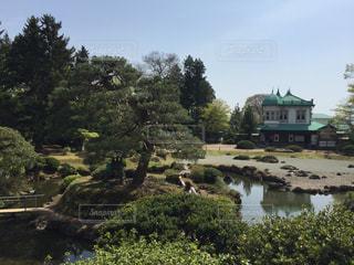 青森 平川市 盛美園の写真・画像素材[618241]