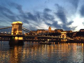 ブダペストの夕暮れの写真・画像素材[618363]