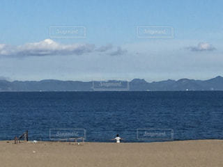 神奈川 三浦海岸にての写真・画像素材[618413]