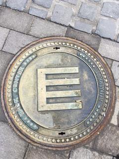 ブダペストのマンホールの写真・画像素材[618436]
