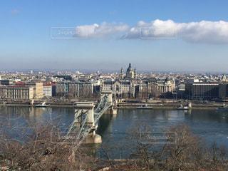 ブダペスト 朝の街並みの写真・画像素材[618526]