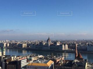 ブダペスト 丘からの国会議事堂の写真・画像素材[618528]