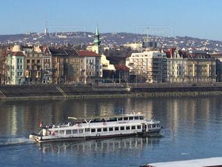 ブダペスト ドナウ川沿いの風景の写真・画像素材[618530]