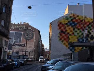 ブダペスト 建物のアートの写真・画像素材[618531]