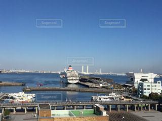 横浜港の写真・画像素材[619837]