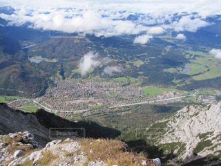 ドイツ 山頂からの写真・画像素材[619841]