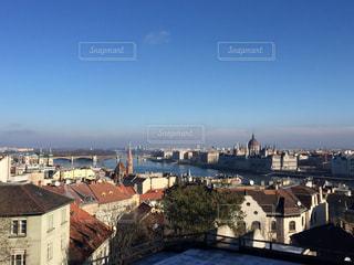 丘からのブダペストの写真・画像素材[620087]