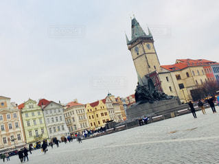 中世の色濃い街、チェコ プラハ♪の写真・画像素材[925853]
