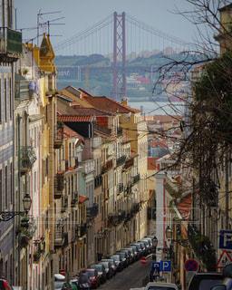 リスボンの街並の写真・画像素材[678961]