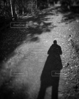 私の影。の写真・画像素材[924190]