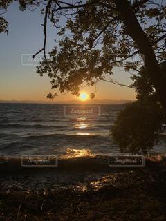 夕日の写真・画像素材[621099]