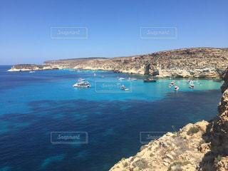 ランペドゥーザ島、空飛ぶ船、海、イタリア、海外、絶景の写真・画像素材[621229]