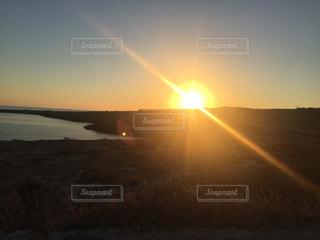 ランペドゥーザ島、夕暮れ、サンセット、絶景の写真・画像素材[621251]
