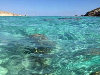 ランペドゥーザ島、ラビットビーチ、海、青い海、きれい、海外、絶景の写真・画像素材[621403]