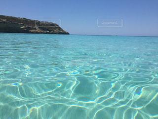 ランペドゥーザ島、ラビットビーチ、海、青い海、きれい、海外、絶景の写真・画像素材[621421]