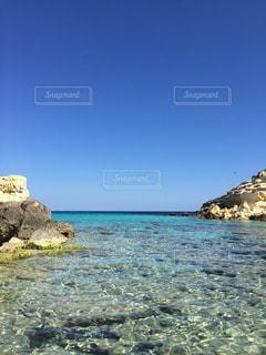 ランペドゥーザ島、ラビットビーチ、海、青い海、きれい、海外、絶景の写真・画像素材[621479]