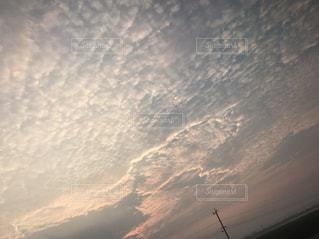 空に広がる雲の写真・画像素材[724272]