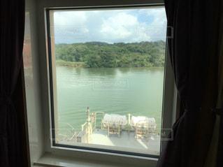 船からの景色の写真・画像素材[1749844]