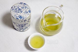 朝茶の一杯の写真・画像素材[1668206]