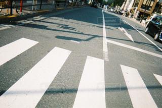 横断歩道をの写真・画像素材[743861]