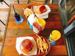 沖縄アメリカンビレッジ Chatan Burger Base Atabii'sの写真・画像素材[743865]