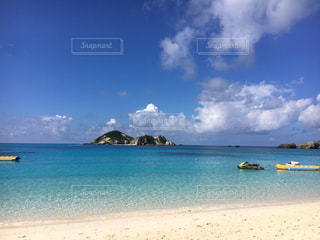 渡嘉敷島のビーチの写真・画像素材[743896]
