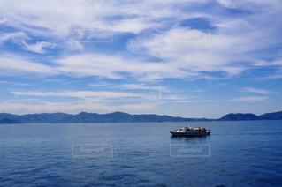 青空、海、舟の写真・画像素材[1665251]