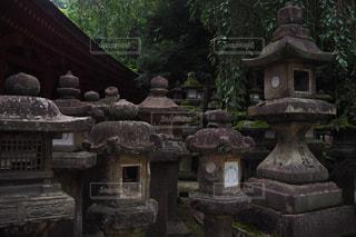 石で作られた建物の写真・画像素材[2405519]