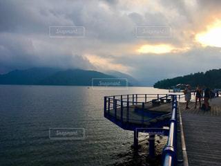 湖の写真・画像素材[624258]