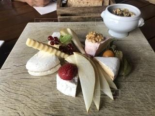 チーズ盛り合わせの写真・画像素材[1432725]