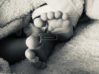 赤ちゃんの足の写真・画像素材[1715494]