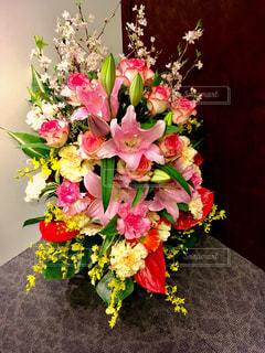 カラフル花束の写真・画像素材[1102664]