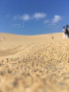 砂丘 ミニチュア風の写真・画像素材[2442203]
