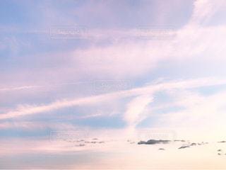 空には雲のグループ - No.705809
