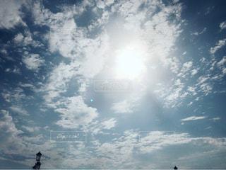 曇りの日に空の雲 - No.705811