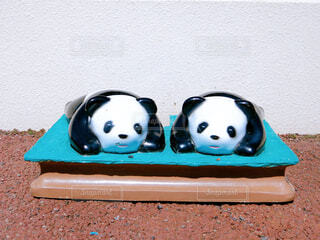 パンダの置き物の写真・画像素材[4333390]