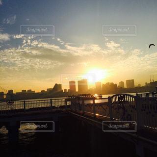 夕日の写真・画像素材[627747]