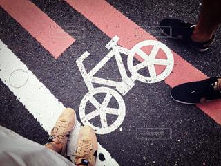 自転車の写真・画像素材[637075]