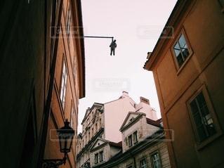 プラハ街中のアートの写真・画像素材[2737884]