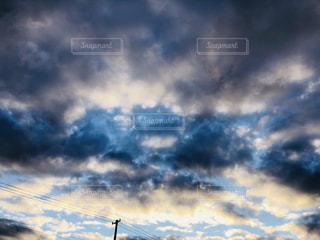 朝方の空の写真・画像素材[1700837]