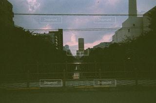夜の街の景色の写真・画像素材[746874]